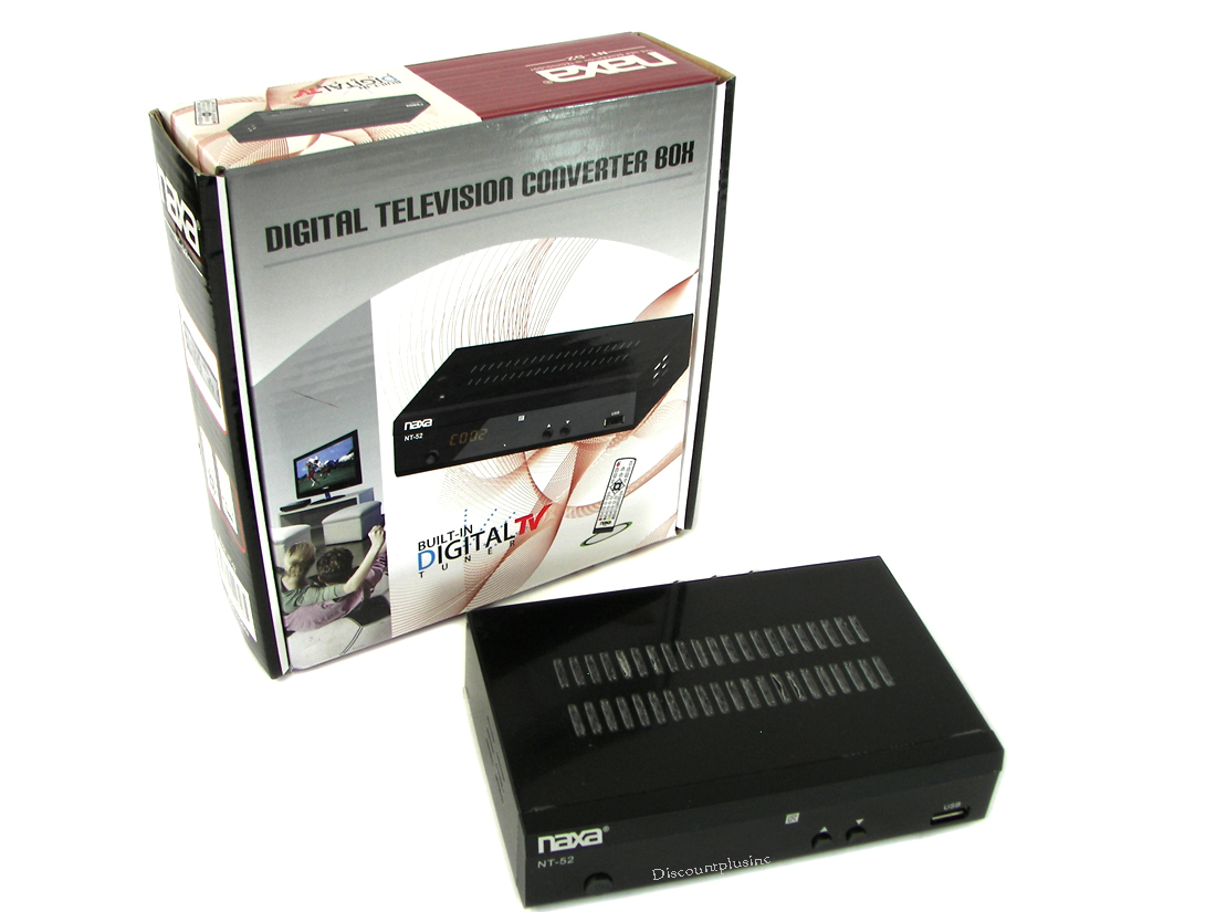 Naxa TN-52 Digital Converter Box