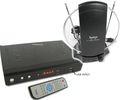 Iview Digital Converter Box With Black Indoor TV Antenna