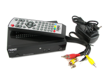 Naxa TN-52 Digital To Analog Converter Box With USB PVR Remote Control