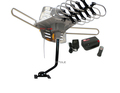 WA-2608 35dB HDTV Digital 360° Rotating Amplified Outdoor TV Antenna + Lava J Mounting Pole