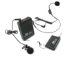 QuantumFX M-309 Behind The Head Lapel Lavalier Style Wireless Cordless Mic Microphone System